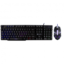TECLADO E MOUSE GAMER USB HOOPSON TPC-053K